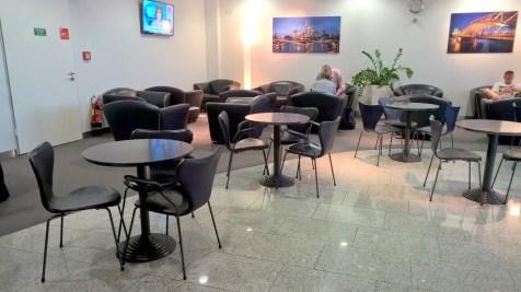 Lufthansa Business Lounge Athens Seating