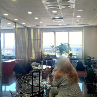 Aegean Business Lounge Athens Seating