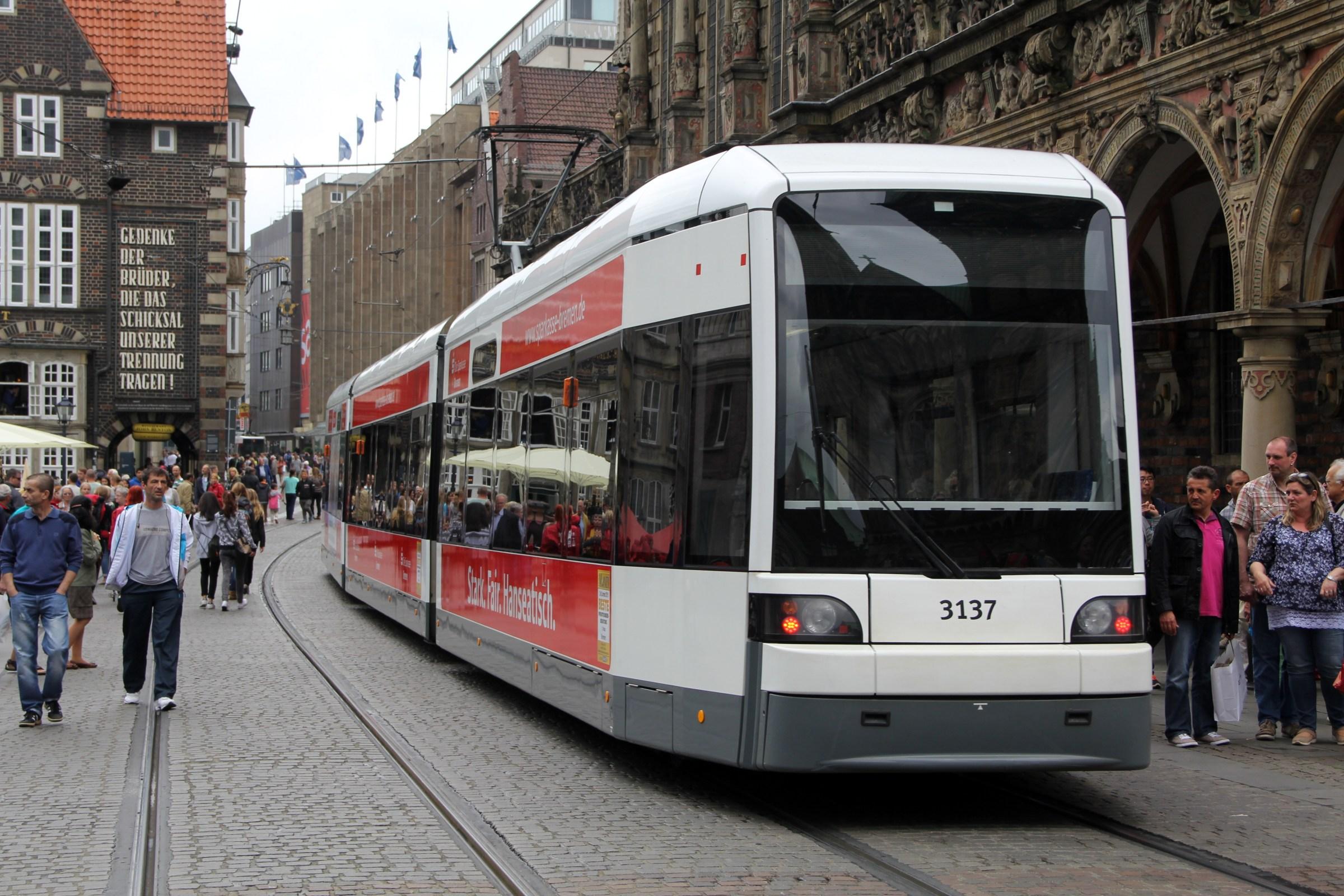 Tram in Bremen