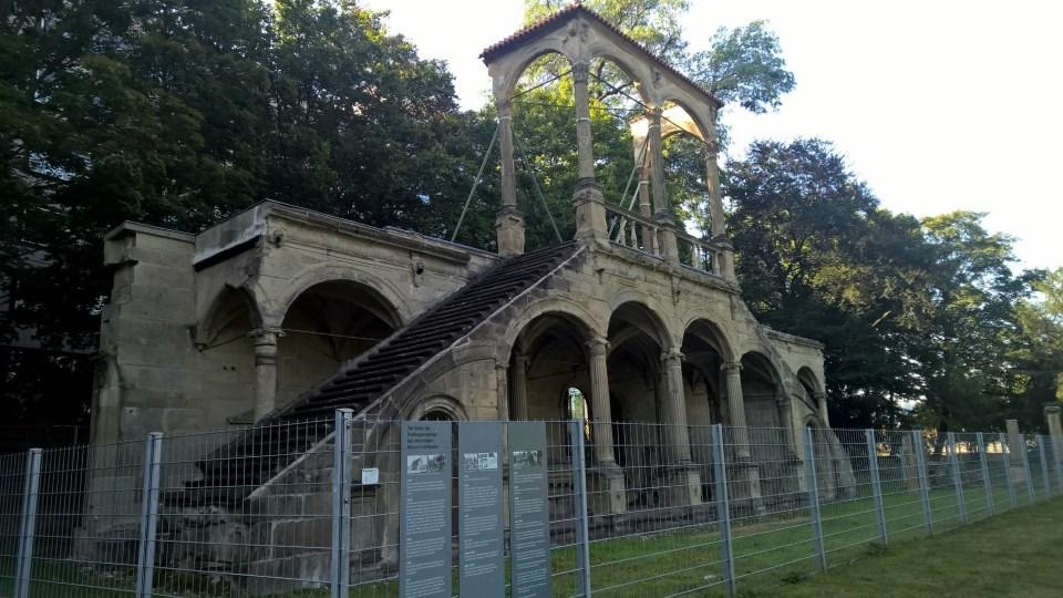 Ruins Schlossgarten Stuttgart