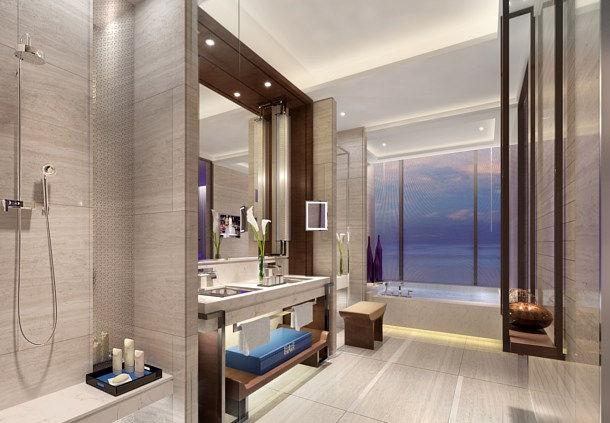 JW Marriott Shenzhen Bao'an Bathroom