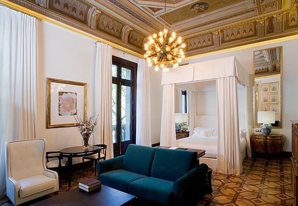 Cotton House Barcelona Damask Suite