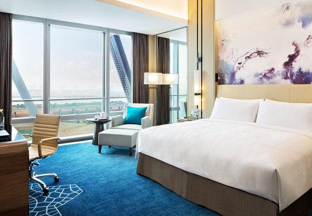 JW Marriott Shenzhen Bao'an Deluxe Bay View Room