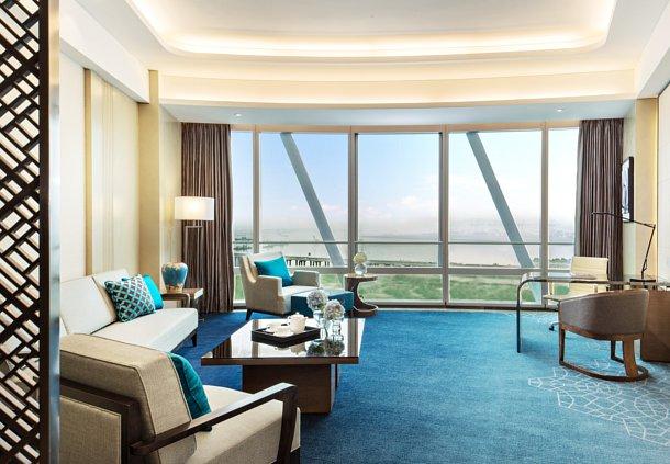 JW Marriott Shenzhen Bao'an Deluxe Bay View Suite