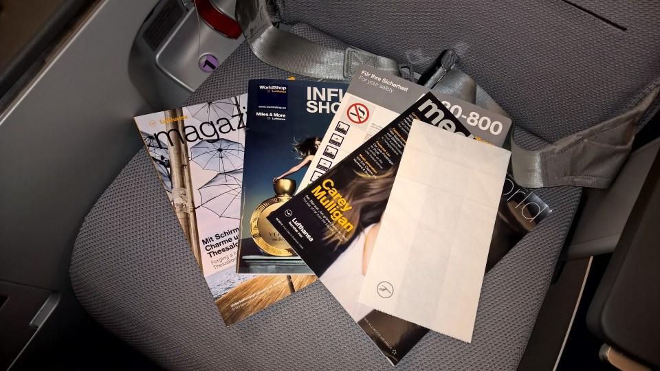 Lufthansa Business Class Magazines