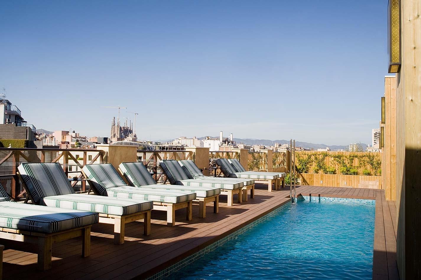 Pool Cotton House Barcelona