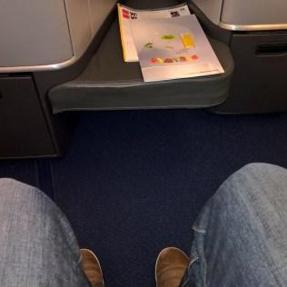 Lufthansa Business Class Seating
