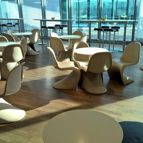 Lufthansa Business Lounge Frankfurt B44 Seating