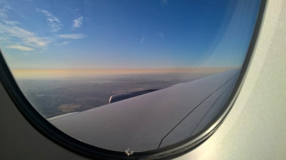 Lufthansa Business Class Window