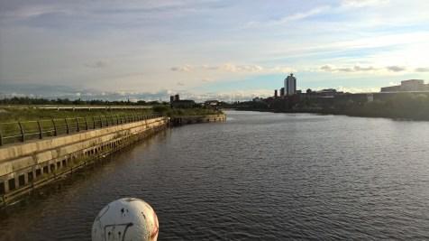 Running in Manchester