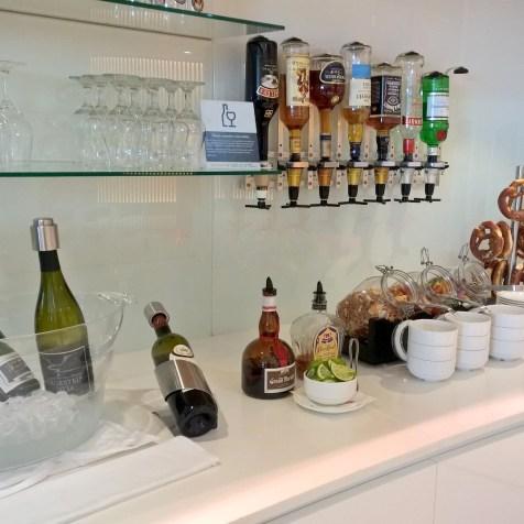 Maple Leaf Lounge Frankfurt Buffet
