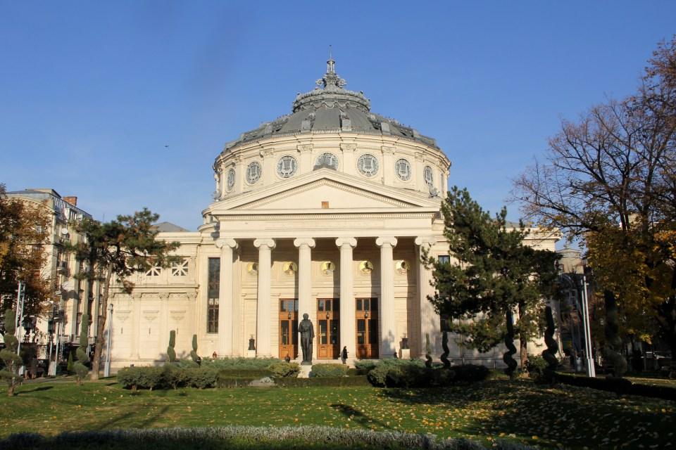 Ateneul Romana Concert Hall Bucharest
