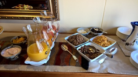 The Hideaway Swellendam Breakfast
