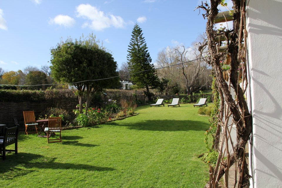 The Hideaway Swellendam Garden