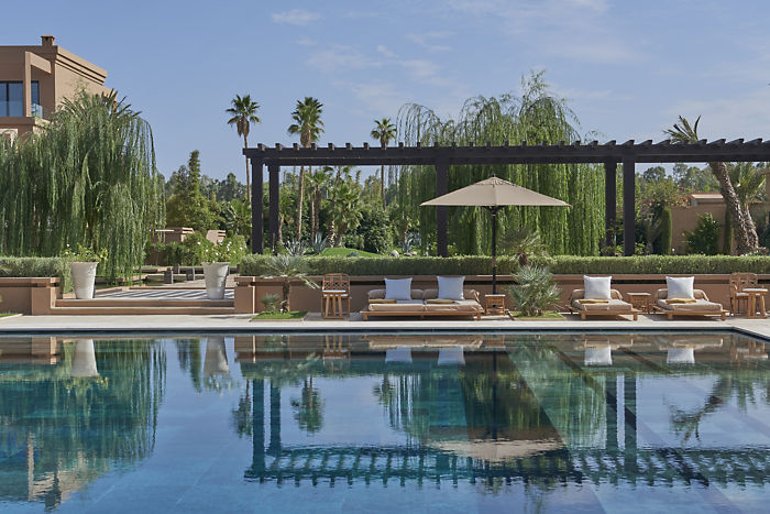 Mandarin Oriental Marrakech Main Pool