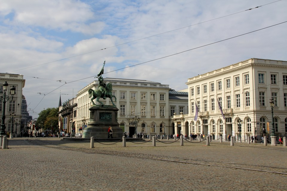 Place du Luxembourg Brussels