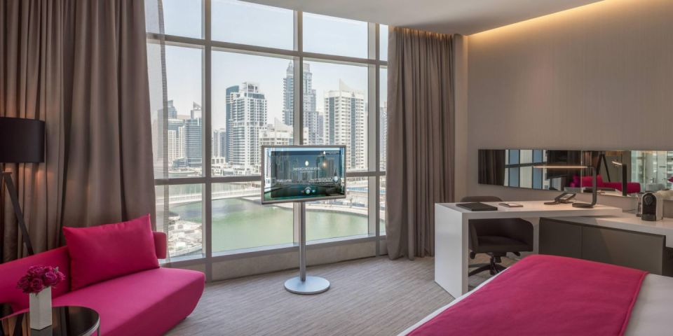 InterContinental Dubai Marina Deluxe Room