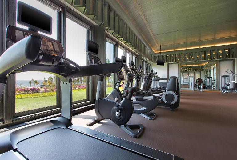Gym Westin Blue Bay Resort