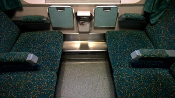 Berlin-Warszawa-Express Second Class