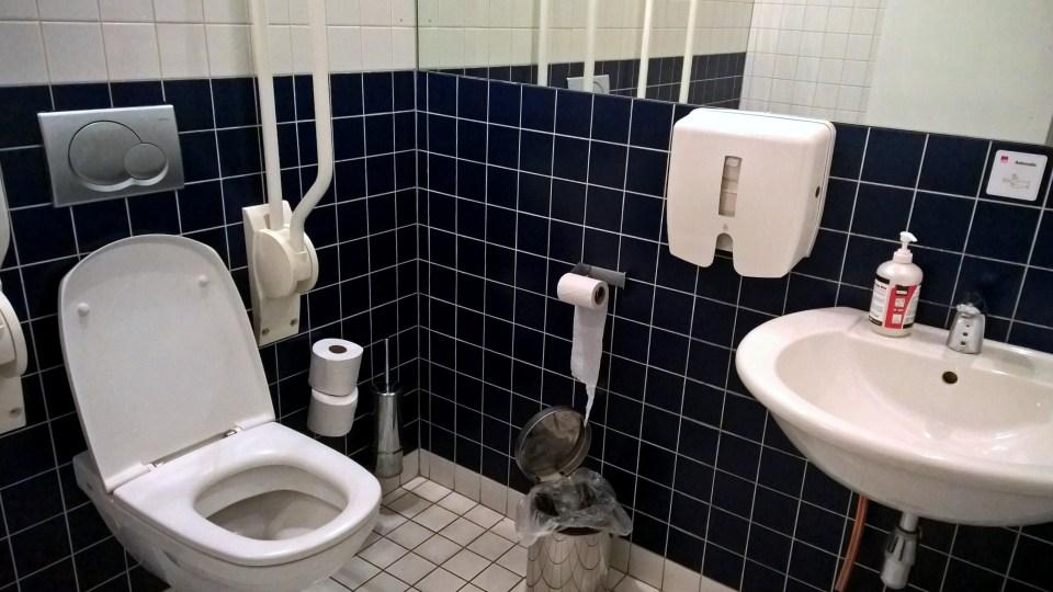 SAS Lounge Brussels Washroom
