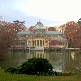 Running in Madrid Parque de El Retiro