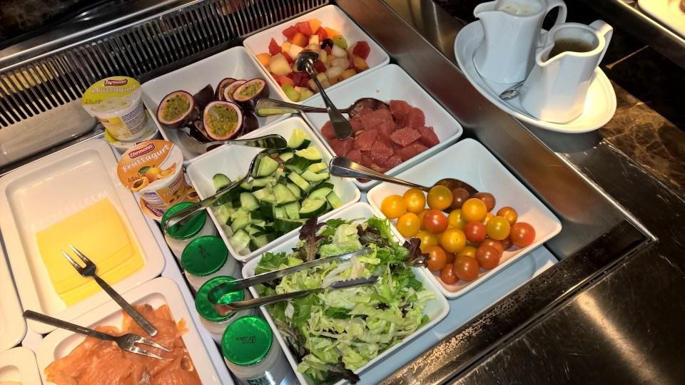 Hilton Rotterdam Breakfast