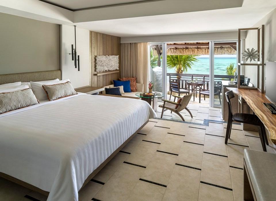 Shangri-La's Le Touessrok Coral Deluxe Room
