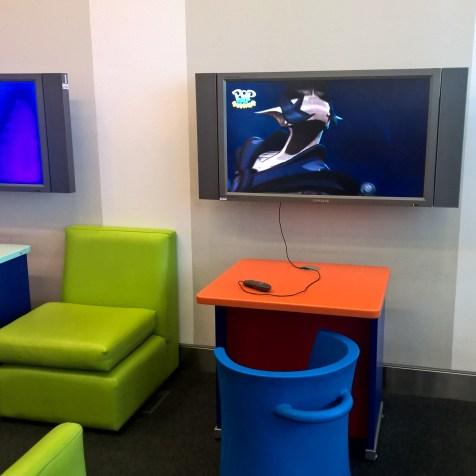 BA Galleries Lounge North London Heathrow Entertainment