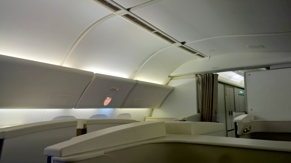Etihad First Class Seating