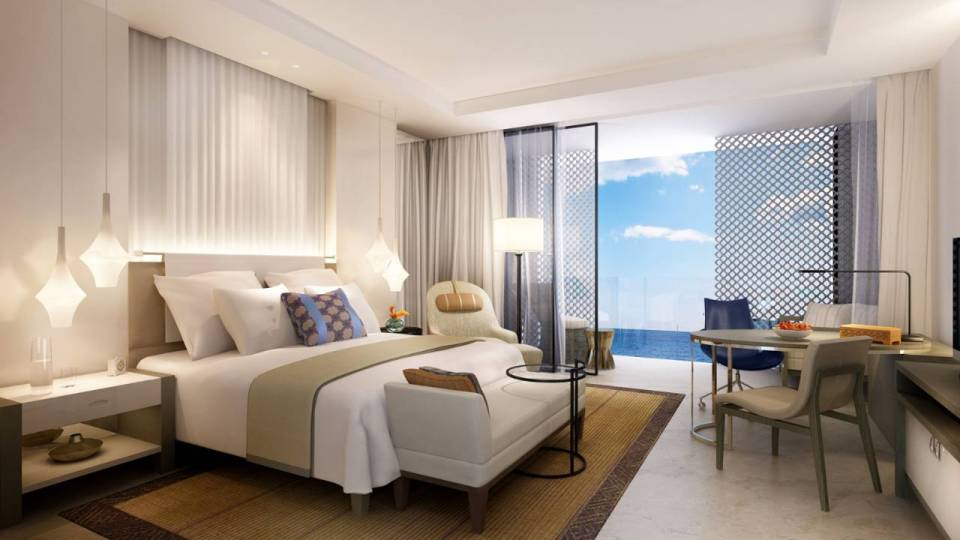 Four Seasons Casablanca Grand Premier Ocean View Room