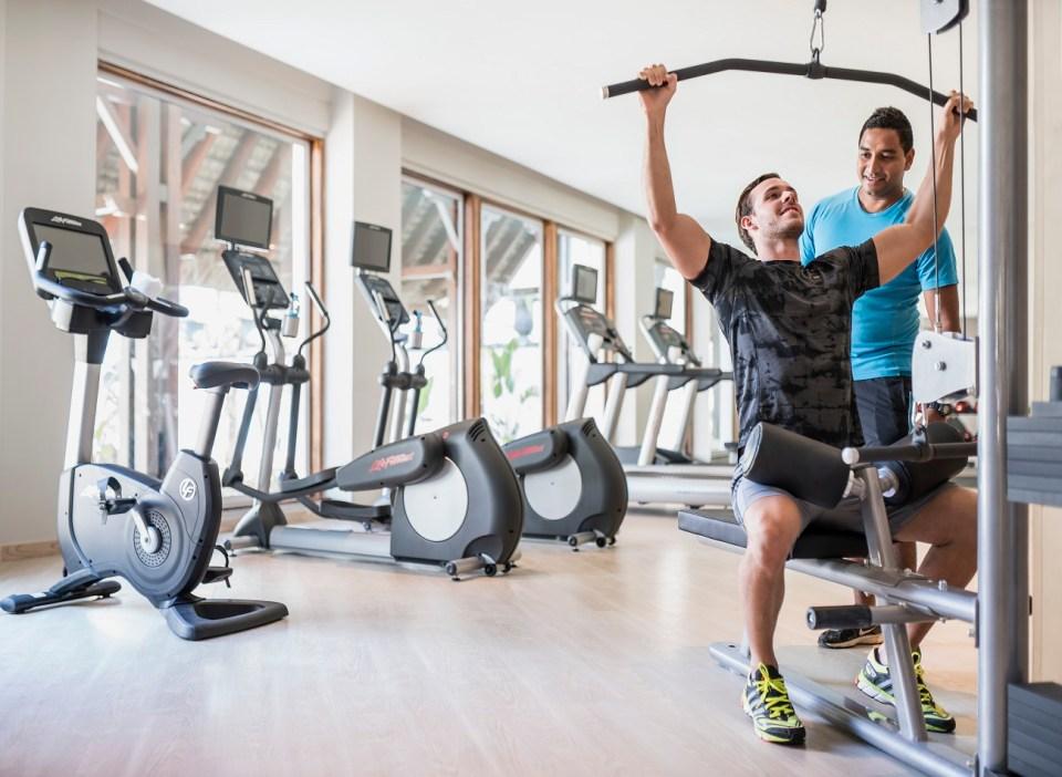 Shangri-La's Le Touessrok Gym