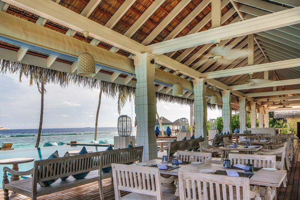 Loama Hotel Maldives Iru Café