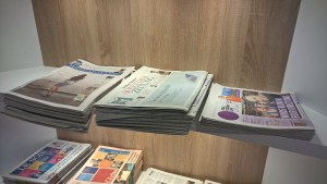 The Loft Brussels Newspapers