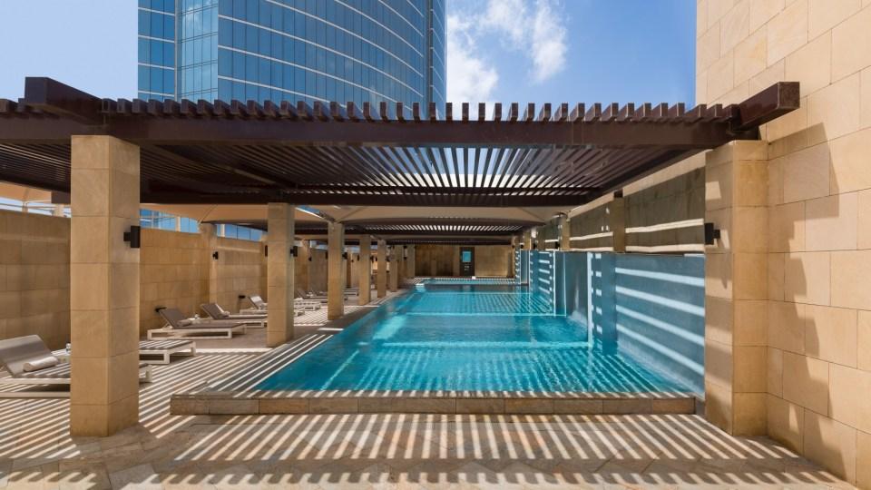 Burj Rafal Kempinski Riyadh Pool