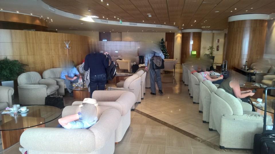 Sala VIP Montana Rojo Tenerife Seating