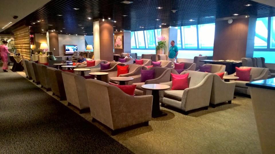 Thai Royal First Lounge Bangkok D Seating
