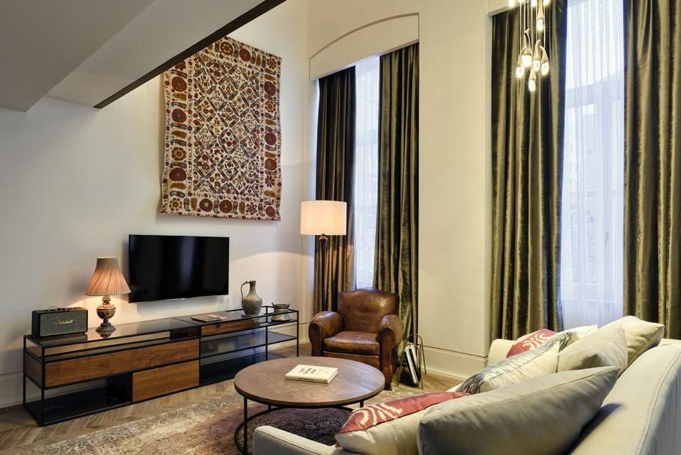 Soho House Istanbul Small Mezzanine Room