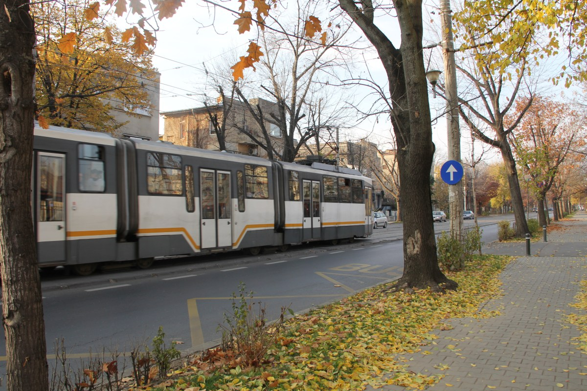 Tram Bucharest