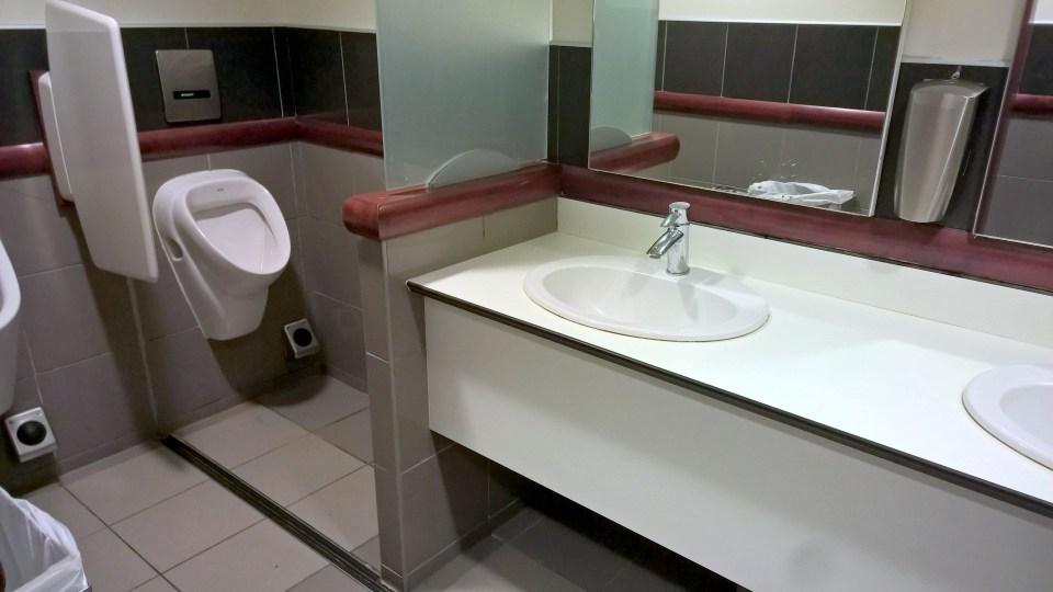 Air France Lounge Paris CDG 2F Washrooms