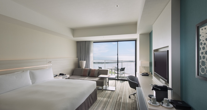 Hilton Okinawa Chatan Resort Executive Room Ocean View