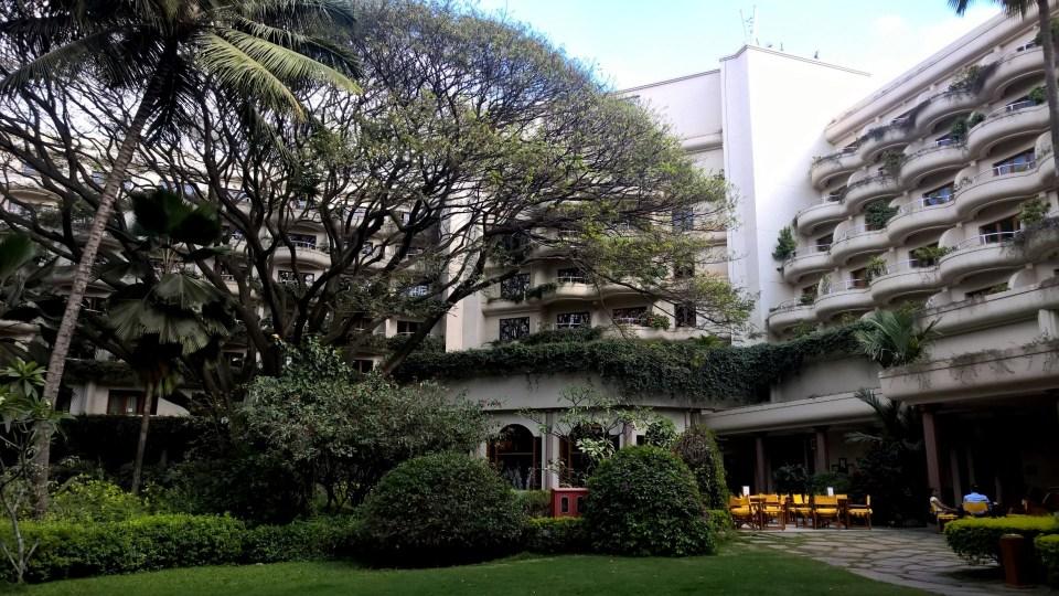 Inner Courtyard The Oberoi Bengaluru