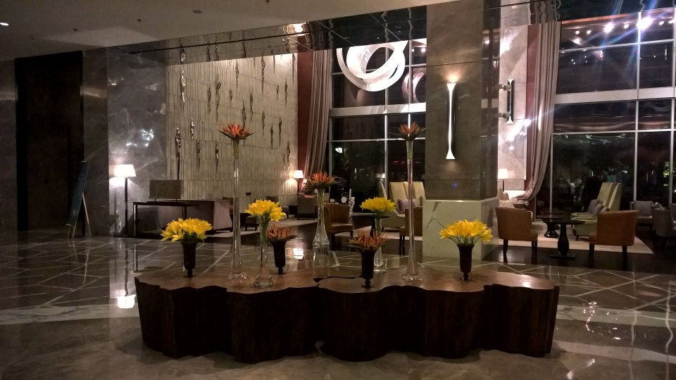 Lobby JW Marriott Delhi