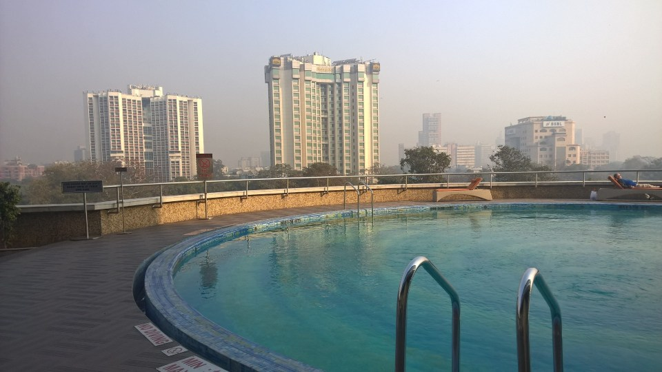 Pool Le Meridien New Delhi
