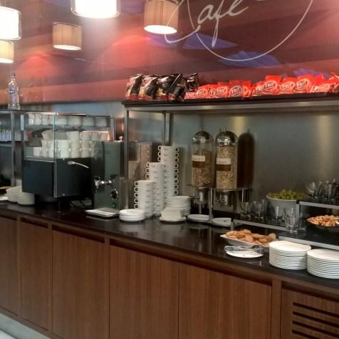 Iberia Dali VIP Lounge Madrid Buffet
