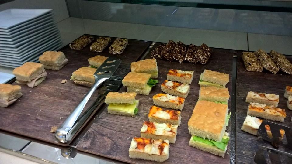 Alitalia Tintoretto Lounge Venice Buffet