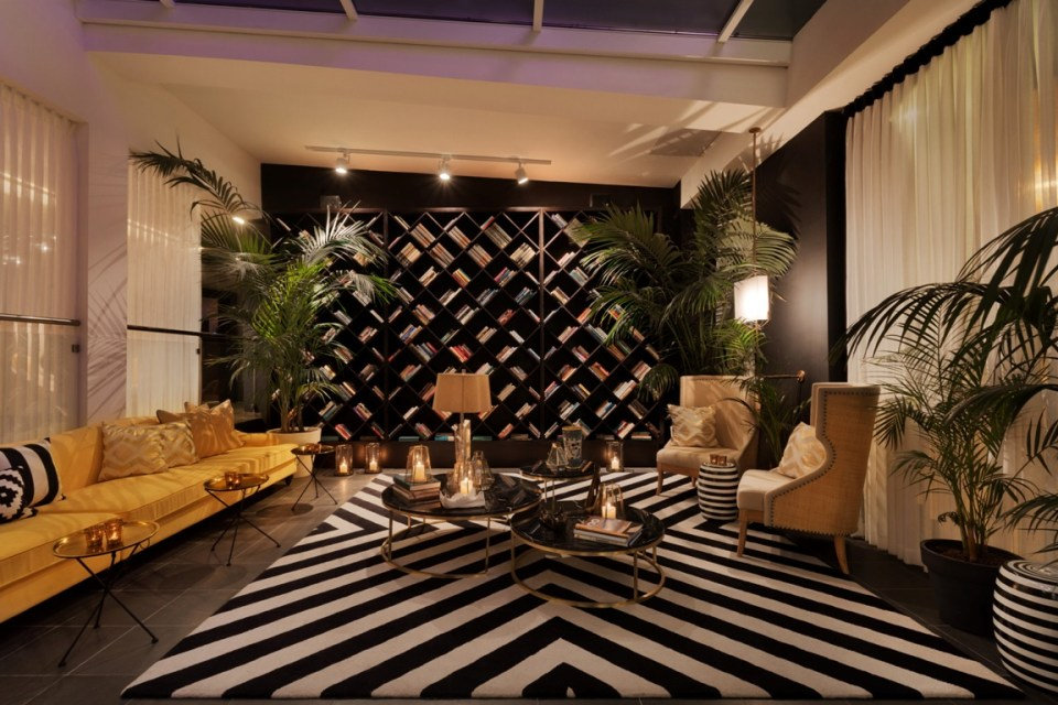 Brown Beach House Tel Aviv Lobby