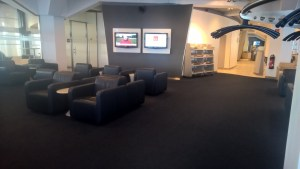 Lufthansa Business Lounge Berlin Seating