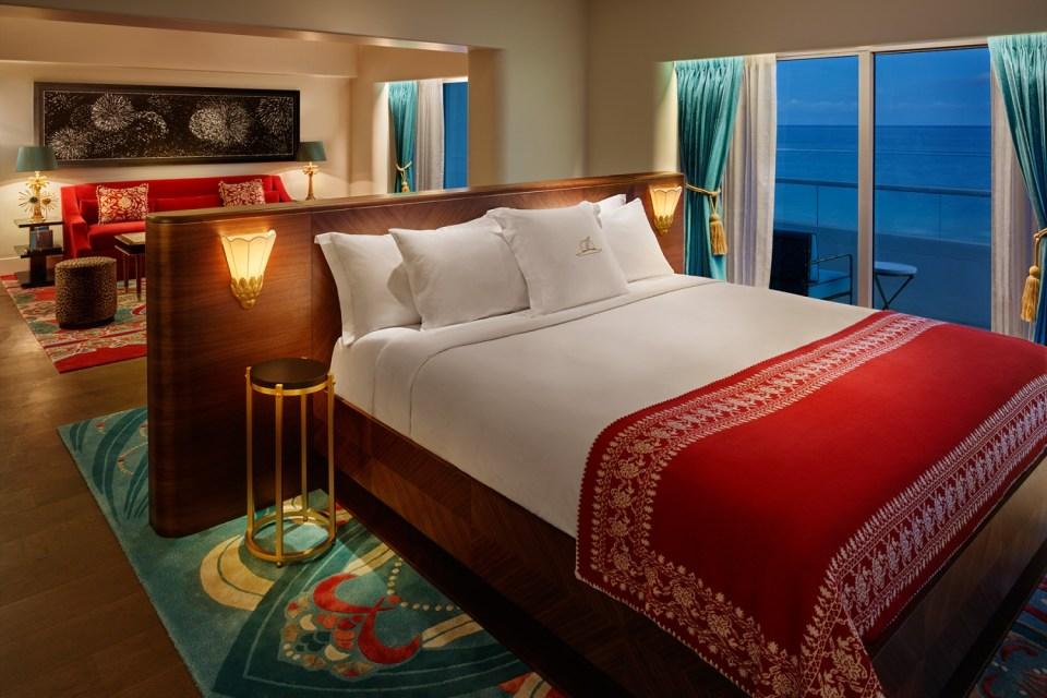 Faena Hotel Miami Beach Oceanfront Corner Suite