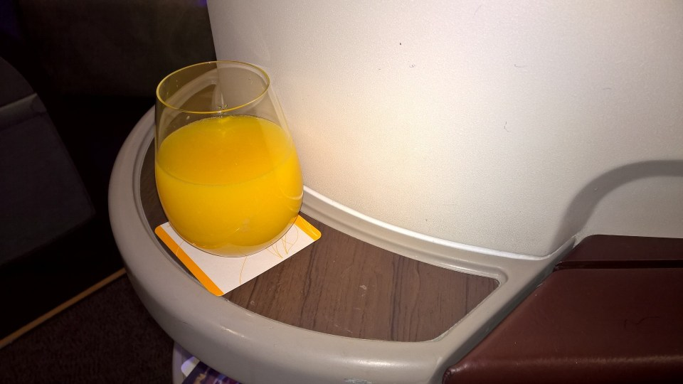Jet Airways Business Class Service