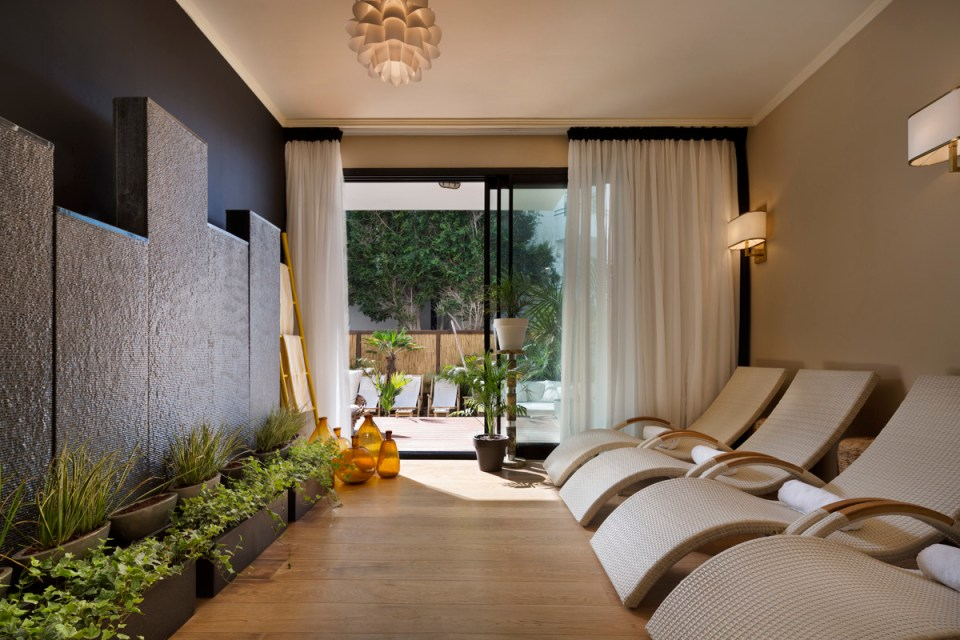 Brown Beach House Tel Aviv Relaxation Room